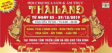 Hội Chợ Thái Lan Mua Sắm và Ẩm Thực đầu năm 2020