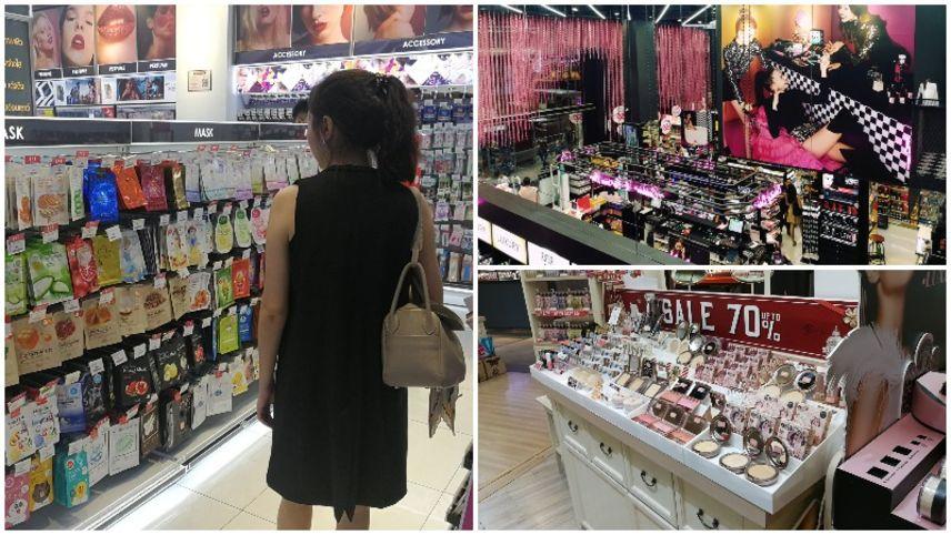 Mua sắm mỹ phẩm tại Bangkok Thái Lan