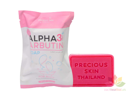 Xà phòng Alpha Arbutin Soap 3 Plus  ảnh 1