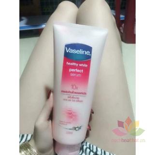 Dưỡng thể Vaseline 10x Healthy White Perfect Serum Thái Lan ảnh 2