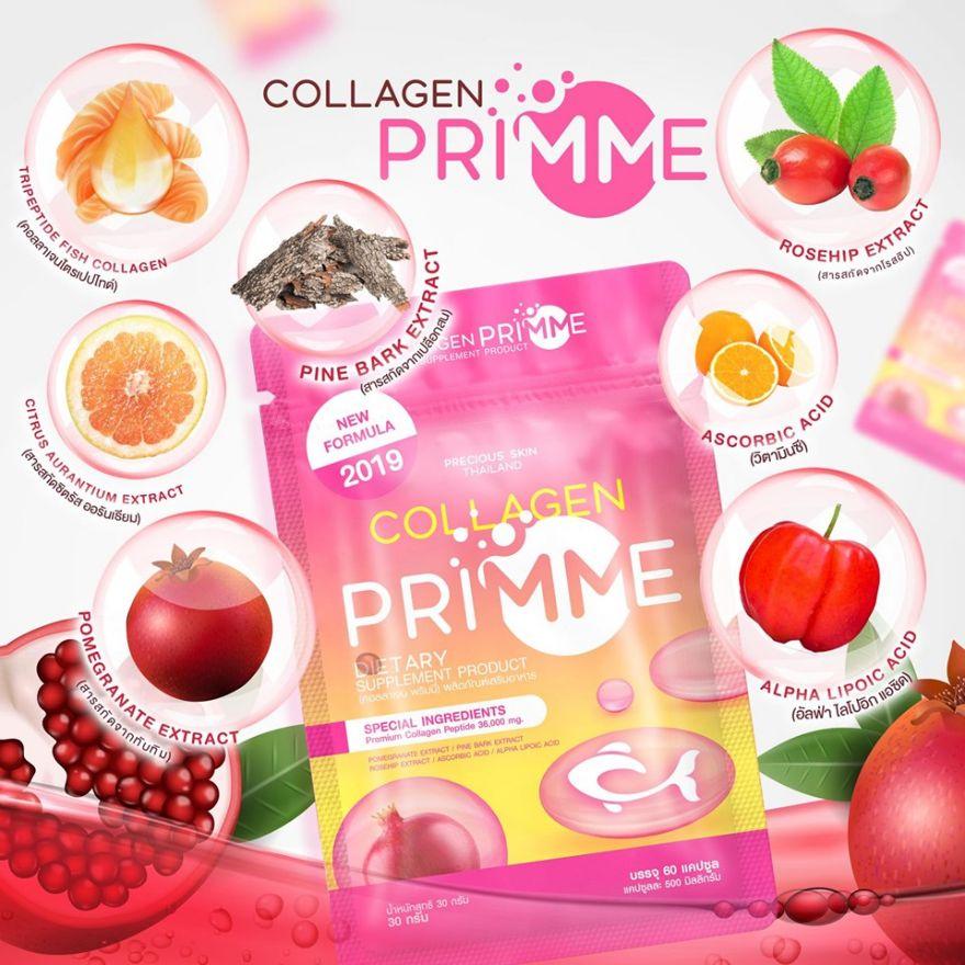 Viên uống dưỡng da Collagen Primme