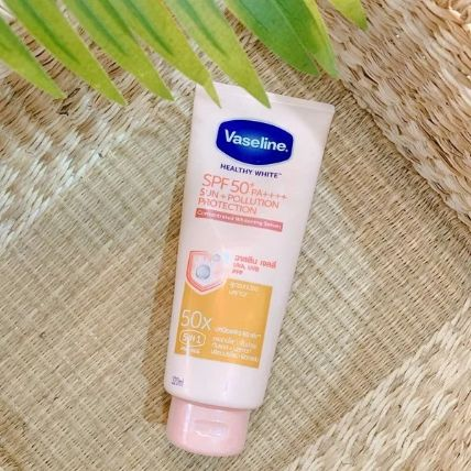 Serum làm trắng chống nắng Vaseline Healthy White SPF50+++ PA++++ ảnh 8