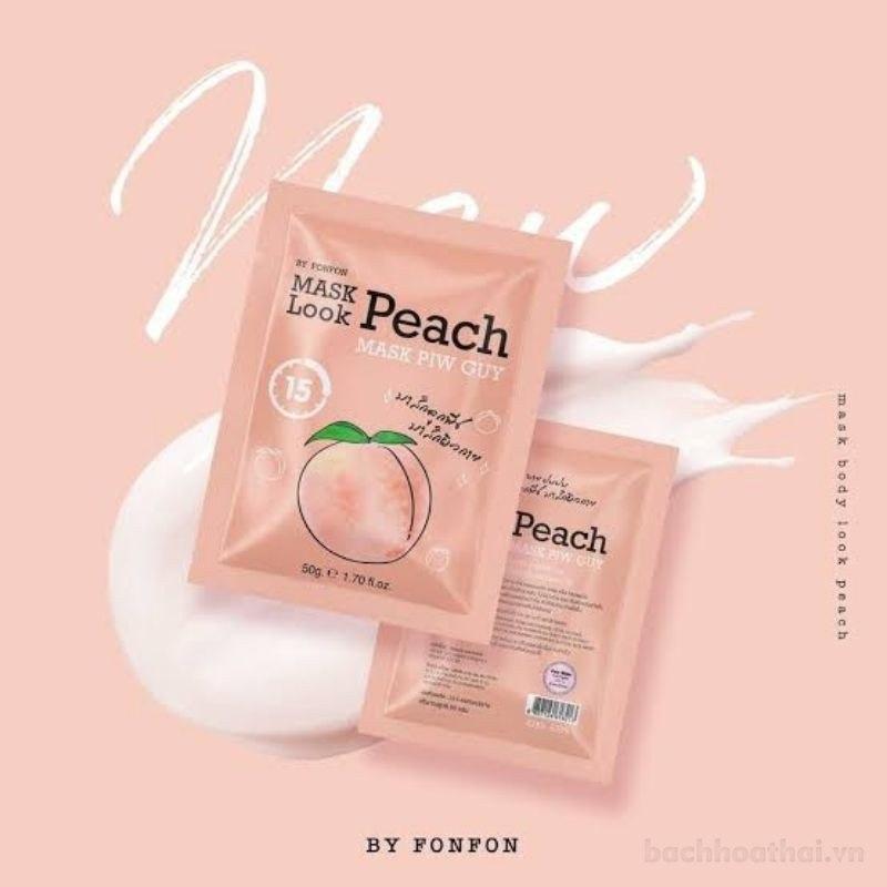 Ủ trắng đào Mask Look Peach Mask Piw Guy Thái Lan