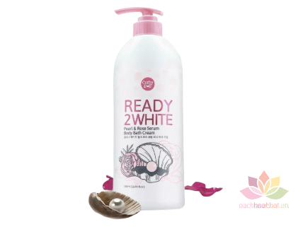 Sữa tắm Ready 2 White Pearl and Rose Serum  ảnh 1