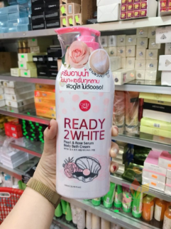 Sữa tắm Ready 2 White Pearl and Rose Serum  ảnh 4
