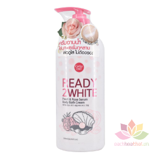 Sữa tắm Ready 2 White Pearl and Rose Serum  ảnh 5