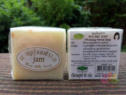 Xà phòng sữa gạo Jam Rice Milk Soap ảnh 6