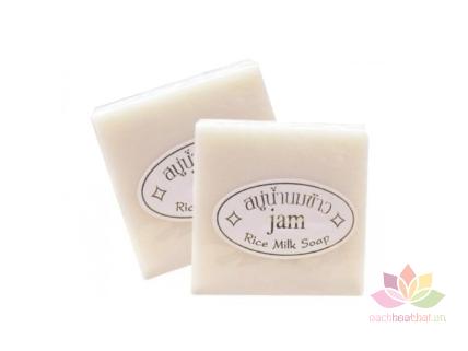 Xà phòng sữa gạo Jam Rice Milk Soap ảnh 1
