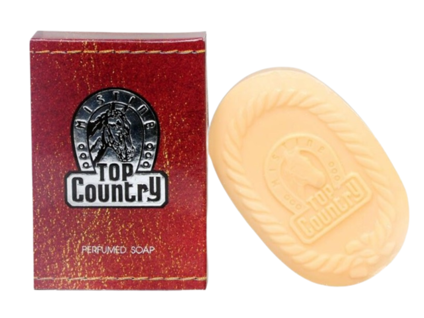 Xà phòng hương nước hoa cho Nam Mistine Top Country Perfumed Soap ảnh 1