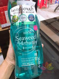 Sữa tắm rong biển Boya Seaweed & Arbutin Serum Bath ảnh 4