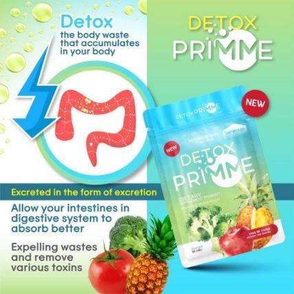 Viên uống Detox khử mỡ giảm cân thải độc Primme DTX ảnh 4
