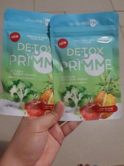 Viên uống Detox khử mỡ giảm cân thải độc Primme DTX ảnh 19