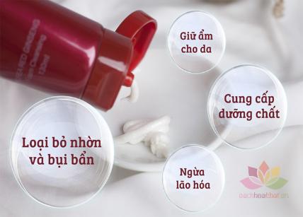 Sữa rửa mặt Gold Korea Red Ginseng Foam Cleansing ảnh 4