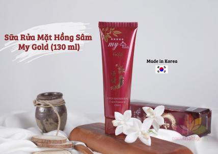 Sữa rửa mặt Gold Korea Red Ginseng Foam Cleansing ảnh 7