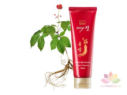 Sữa rửa mặt Gold Korea Red Ginseng Foam Cleansing ảnh 1