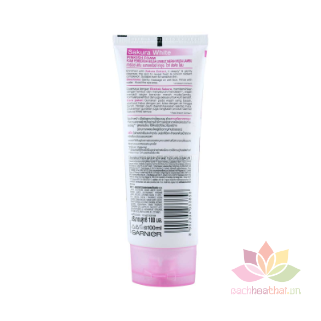 Sữa rửa mặt Sakura White Pinkish Foam ảnh 4