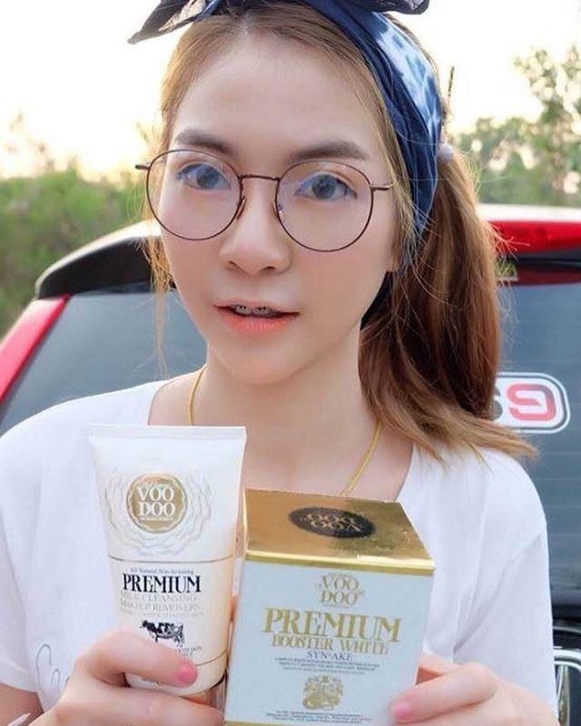 Sữa rửa mặt tẩy trang VooDoo Premium Milk Cleansing Makeup Removers