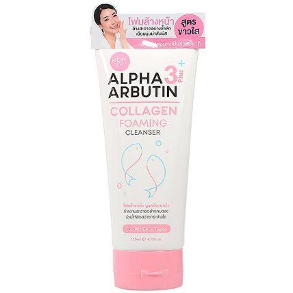 Sữa rửa mặt Alpha Arbutin Collagen Foaming Cleanser ảnh 3