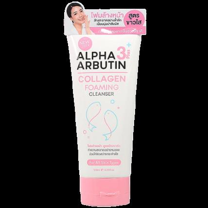 Sữa rửa mặt Alpha Arbutin Collagen Foaming Cleanser ảnh 1