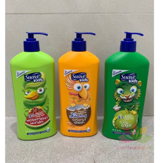 Tắm gội Suave Kids 3 in 1 ảnh 2