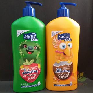 Tắm gội Suave Kids 3 in 1 ảnh 6