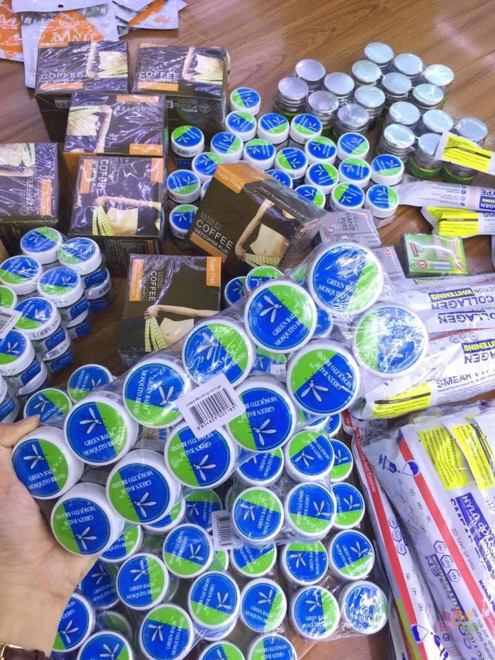 Dầu bôi trị muỗi đốt Yanhee Green Balm Mosquito Brand
