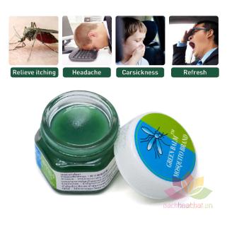 Dầu bôi trị muỗi đốt Yanhee Green Balm Mosquito Brand ảnh 11