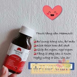 Tăng Cân Haemo Vit Red Vitamin ảnh 8
