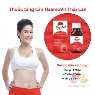 Tăng Cân Haemo Vit Red Vitamin ảnh 9