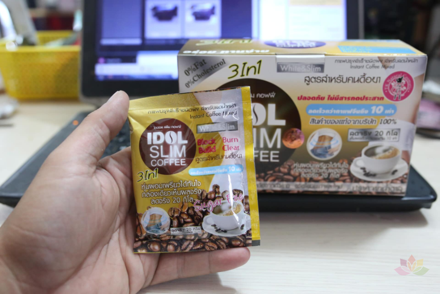 Cà phê giảm cân Idol Slim Coffee 3 In 1 ảnh 8