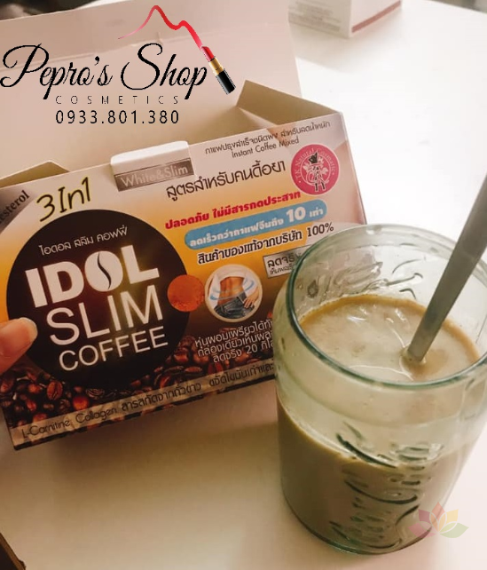 Cà phê giảm cân Idol Slim Coffee 3 In 1 ảnh 13