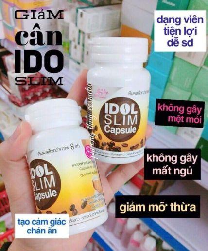 Cà phê giảm cân IDOL SLIM Capsule dạng viên nang ảnh 4