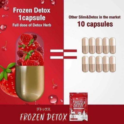 Viên uống khử mỡ giảm cân Frozen Detox ảnh 6