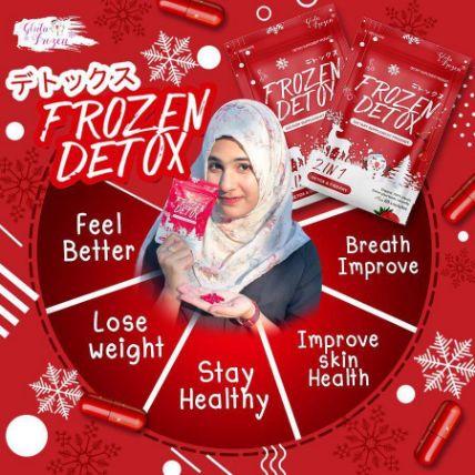 Viên uống khử mỡ giảm cân Frozen Detox ảnh 7