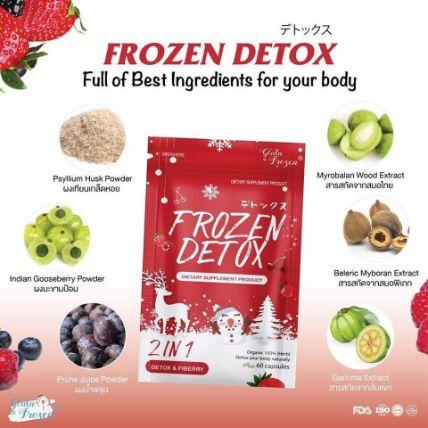 Viên uống khử mỡ giảm cân Frozen Detox ảnh 3