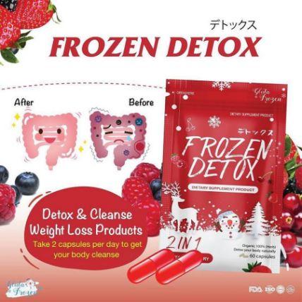 Viên uống khử mỡ giảm cân Frozen Detox ảnh 8