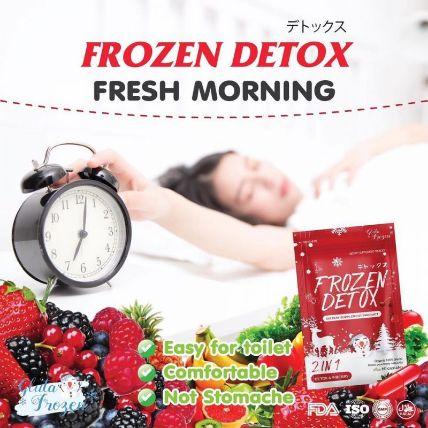 Viên uống khử mỡ giảm cân Frozen Detox ảnh 9