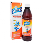Ảnh sản phẩm Siro SCOTT'S Emuls Vita Thái Lan Giúp Bé Ăn Ngon Và Mau Tăng Cân 1