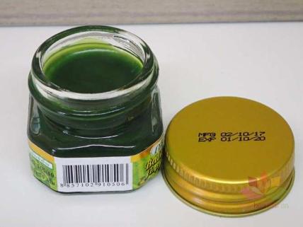 Dầu cù là xanh Green Herb Herbal Balm ảnh 4