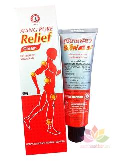 Dầu nóng giảm đau cơ Siang Pure Relief Cream ảnh 10