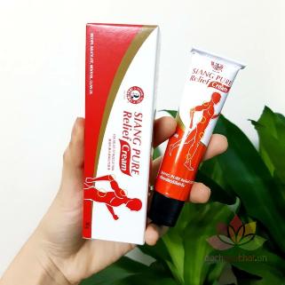 Dầu nóng giảm đau cơ Siang Pure Relief Cream ảnh 12