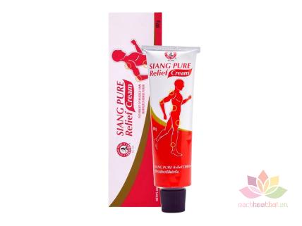 Dầu nóng giảm đau cơ Siang Pure Relief Cream ảnh 1