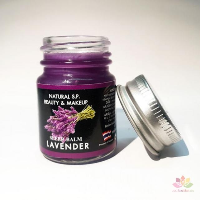 Dầu cù là hỗ trợ giấc ngủ Sleep Balm Lavender  ảnh 3