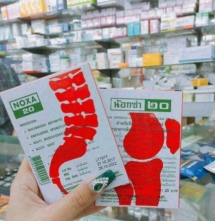 Viên uống trị viêm khớp Gout Noxa 20 Piroxicam ảnh 8