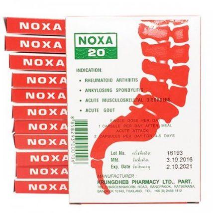 Viên uống trị viêm khớp Gout Noxa 20 Piroxicam ảnh 11