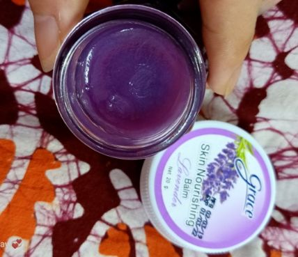 Dầu cù là hỗ trợ giấc ngủ Grace Skin Nourising Balm Lavender ảnh 2