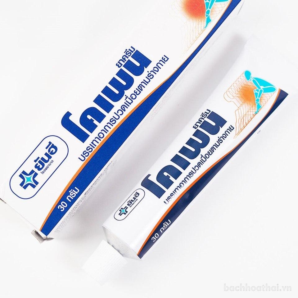 Kem bôi giảm đau cơ Yanhee KOPAIN Cream Thái lan