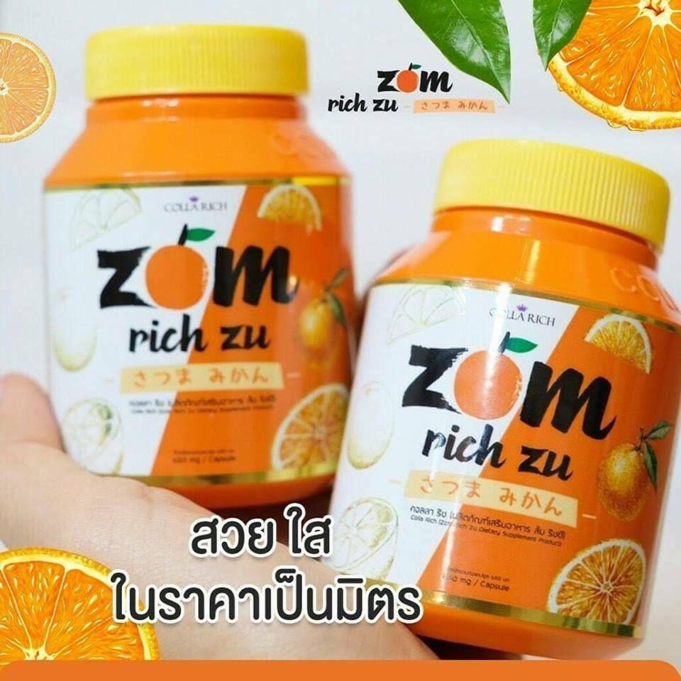 Viên uống phục hồi làm trắng da Zom Rich Zu
