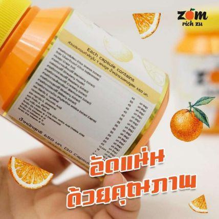 Viên uống phục hồi làm trắng da Zom Rich Zu ảnh 4