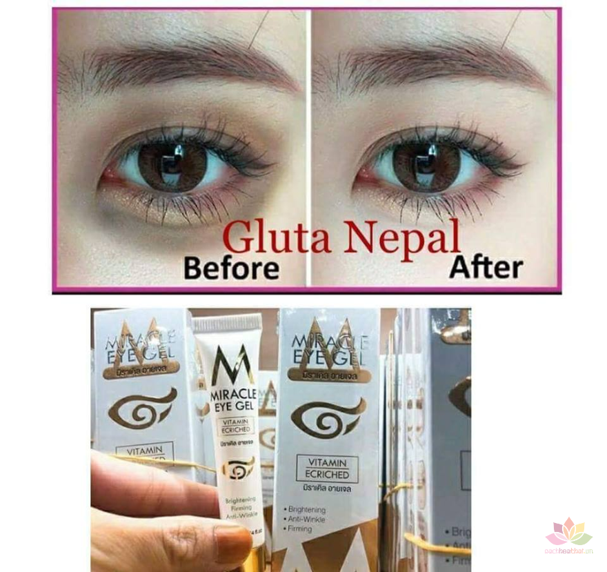Kem trị thâm mắt Miracle Eye Gel Vitamin Ecriched